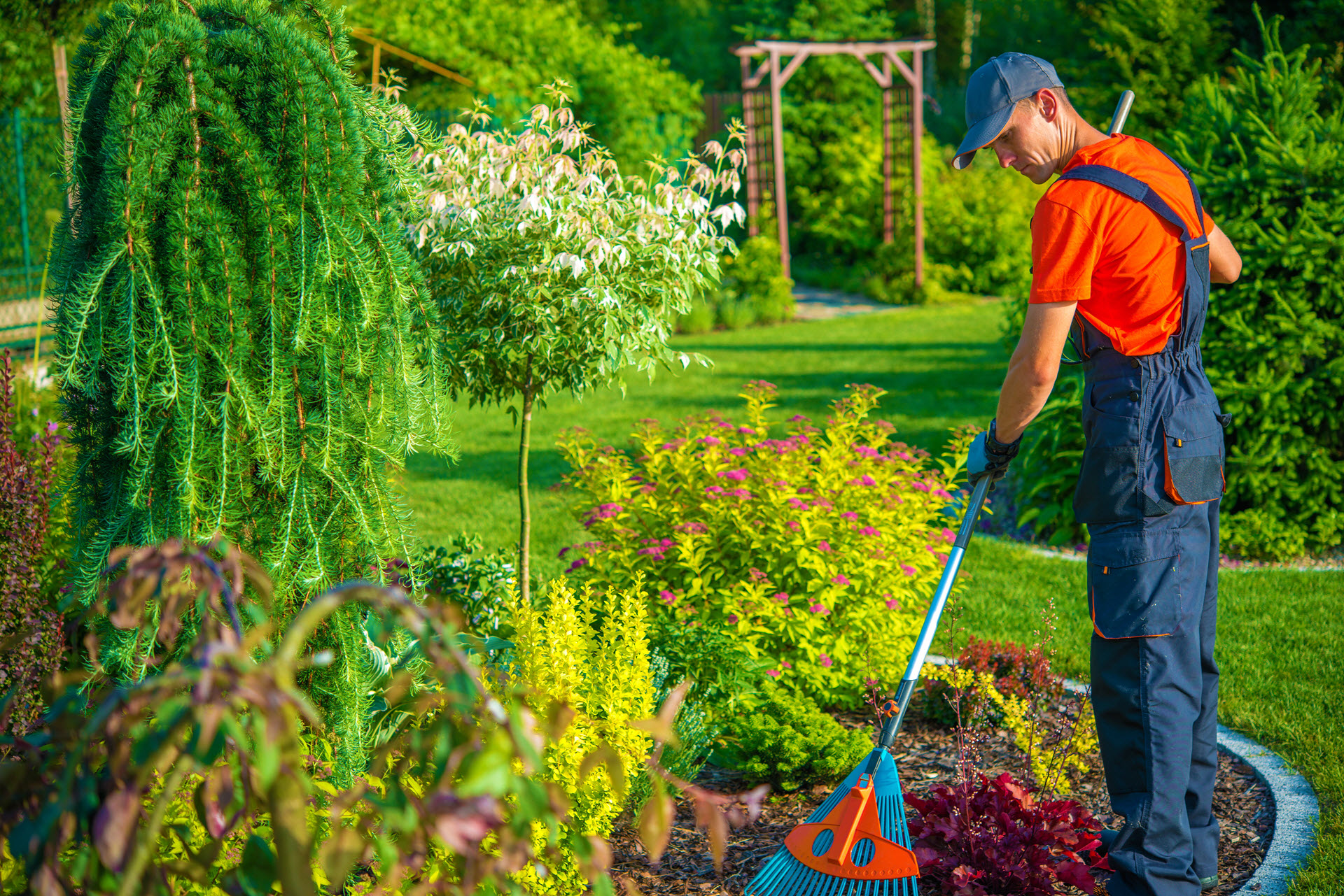 What does a Gardener do to survive the winter?